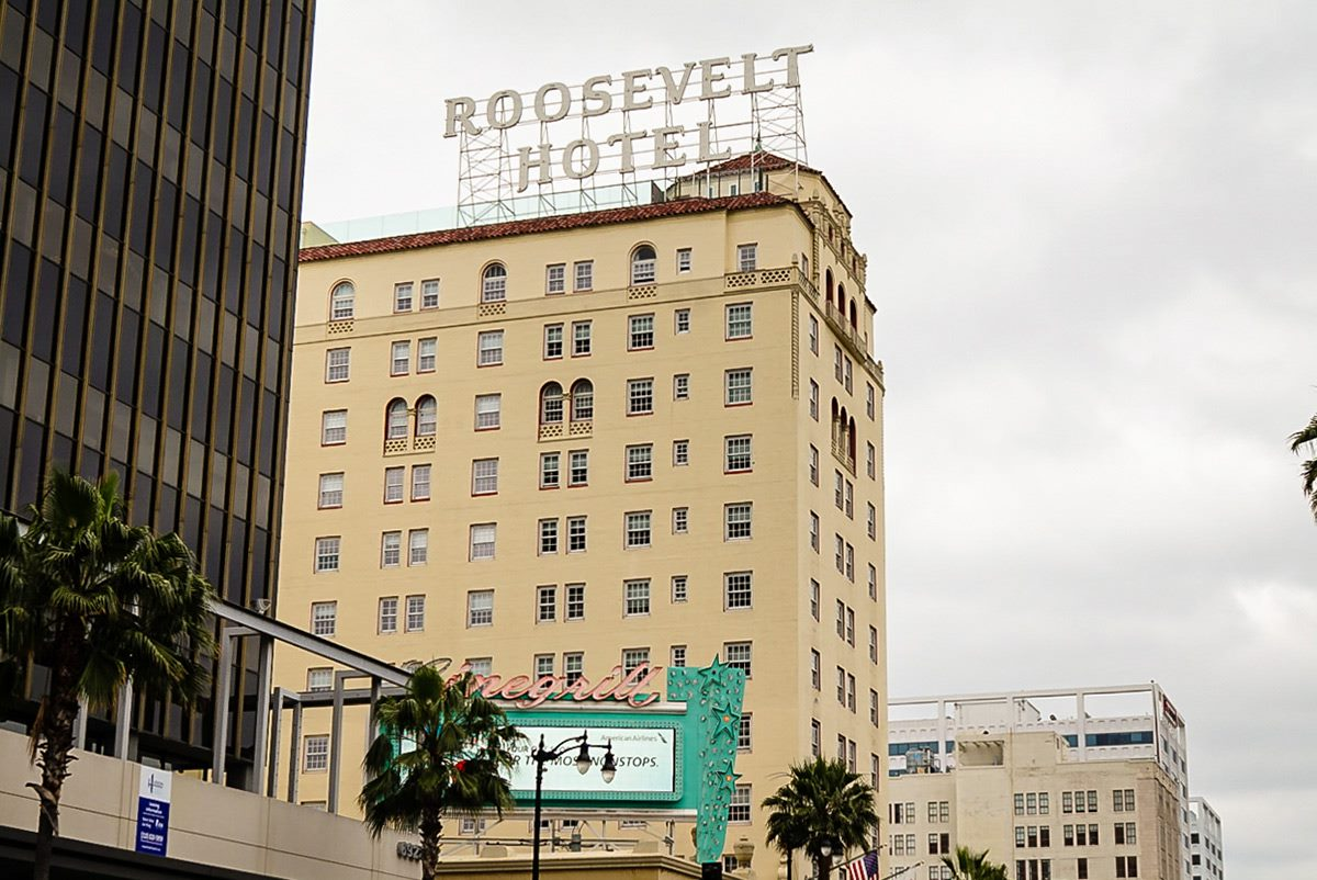 roosevelt hotel in los angeles